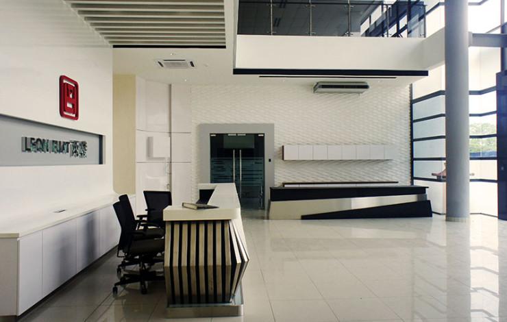 AWARD LEON FUAT BERHAD 4 storey OFFICE RENOVATION