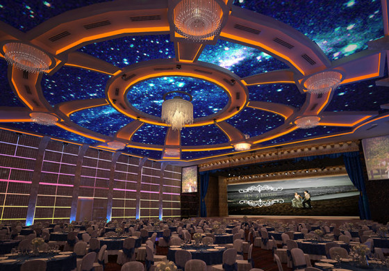 AWARD DESIGN GALAXY HALL AT HGH SENTUL