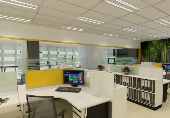 AWARD LEON FUAT BERHAD 4 storey OFFICE RENOVATION