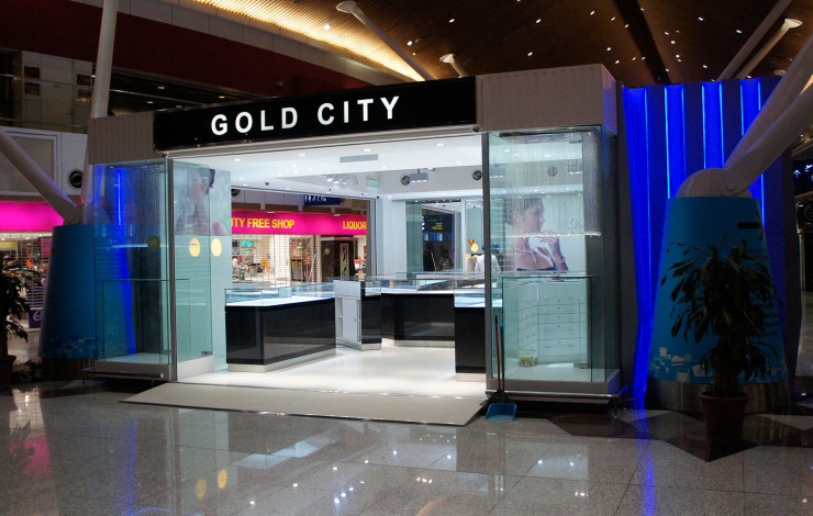 Gold City Jewellery Centre at KLIA satelite